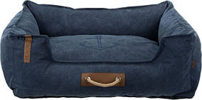 Лежак Trixie Föhr BE NORDIC 60х50 см Темно синій (37457)