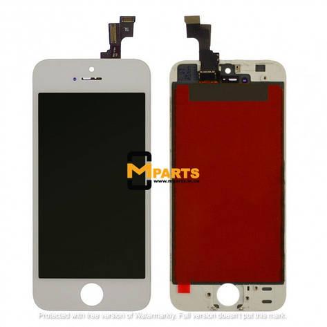 Дисплей для Apple iPhone 5s Белый (ААА), фото 2