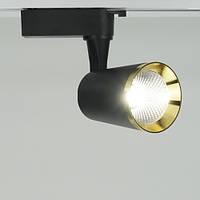 Трековый светодиодный светильник Feron AL111 10w (черный)
