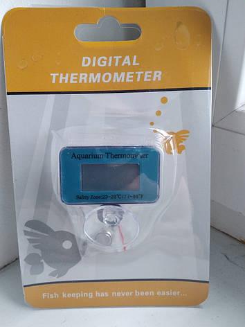 Термометр Digital Termometr HT-7 цифровий для акваріума, фото 2