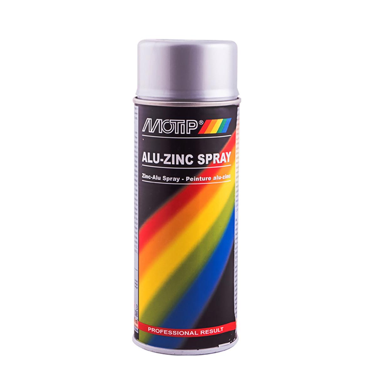 Грунт аэрозольный алюминиево-цинковый Motip 400 мл