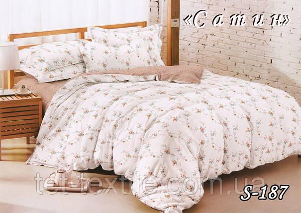 Постельное белье ТЕТ Сатин (двуспальное), фото 2