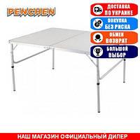 Стол туристический складной Penchen PC1812, складная столешница; 38/70х120х60см. Складной стол PC1812.