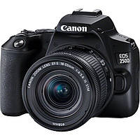 Цифровой фотоаппарат Canon EOS 250D kit 18-55 IS STM Black (3454C007) (389471)