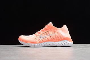 Кроссовки женские Nike Free Run Flyknit 2018 / FRN-045  (Реплика)