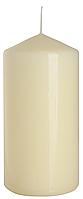 Декоративная свеча-цилиндр BISPOL sw60/120-x кремовая (12 см)
