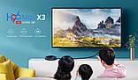 Смарт ТВ бокс H96 Max X3 с голосовым управлением Amlogic S905X3 4Gb/64Gb Android 9.0., фото 3