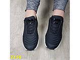 Кроссовки черные текстильные на амортизаторах компенсаторе 37 (2156), фото 6