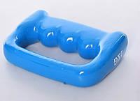 Гантель-кастет Profi 1 кг с виниловым покрытием Синяя MS 2936