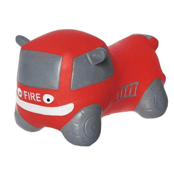 """Резиновый прыгун """"Пожарная машина"""" Красная BT-RJ-0036"""