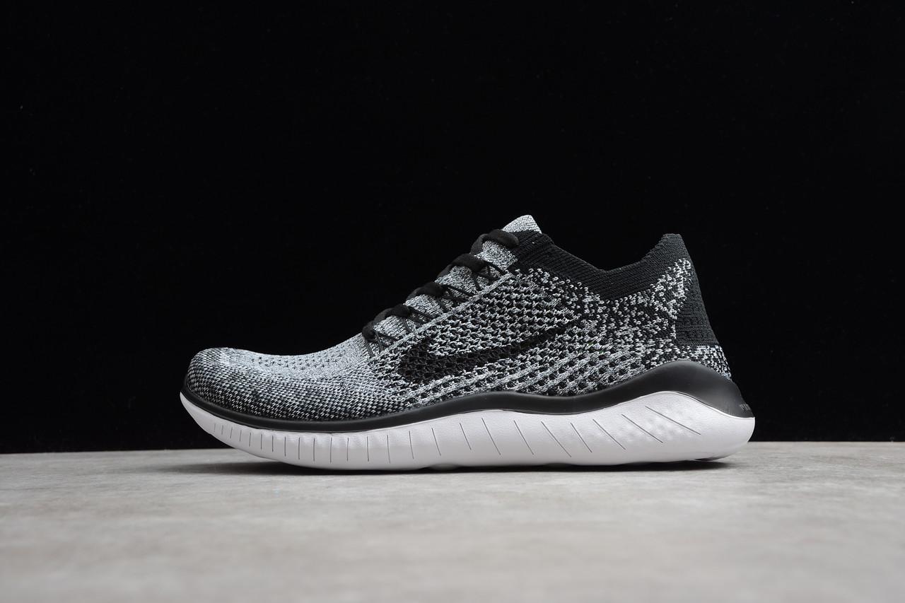 Кросівки жіночі Nike Free Run Flyknit 2018 / FRN-050 (Репліка)