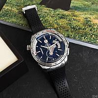 Часы Tag Heuer Grand Carrera Calibre 36 кварцевый хронограф серебристый