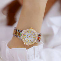 Часы Bee Sister 1258 Gold-Silver-White Diamonds Original точная копия, качество AAA