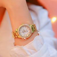 Часы Bee Sister 1258 Gold-White Diamonds Original точная копия, качество AAA