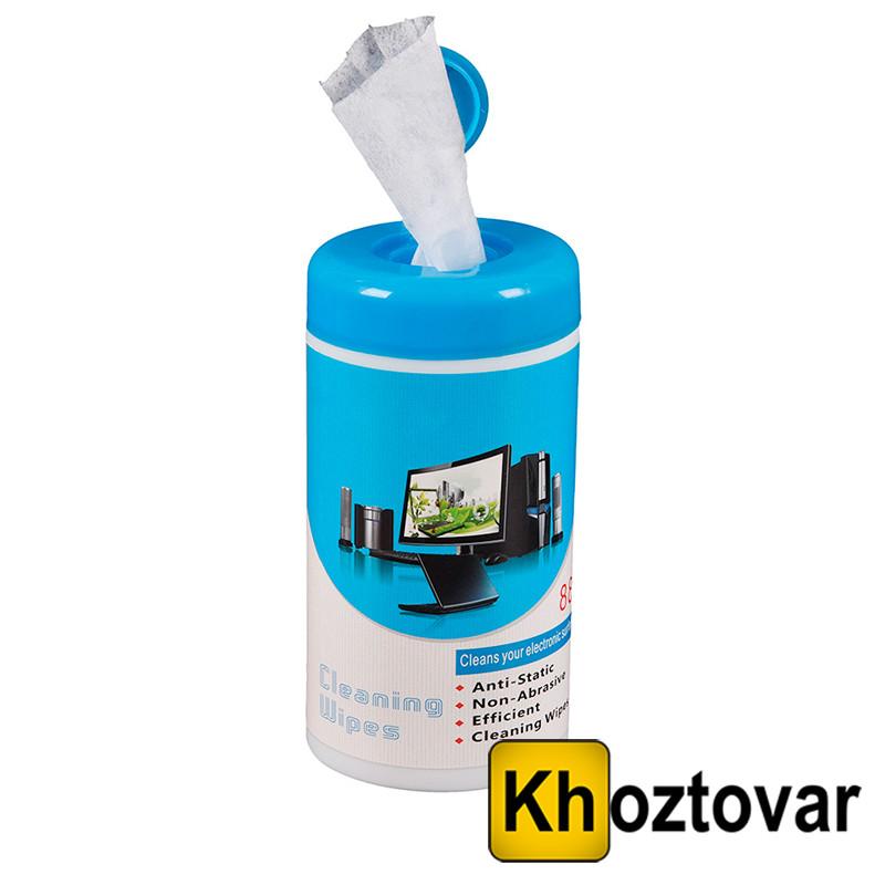 Влажные салфетки для чистки экранов Canamek