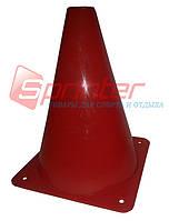 Фишка для пола средняя 23 см. красная