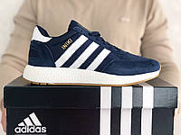 Кроссовки Adidas Iniki, темно-синие