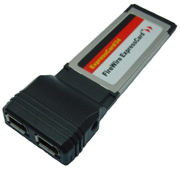 "ExpressCard адаптер на 2 firewire IEEE 1394 порт - Интернет-магазин ""Ценовал"" в Львове"