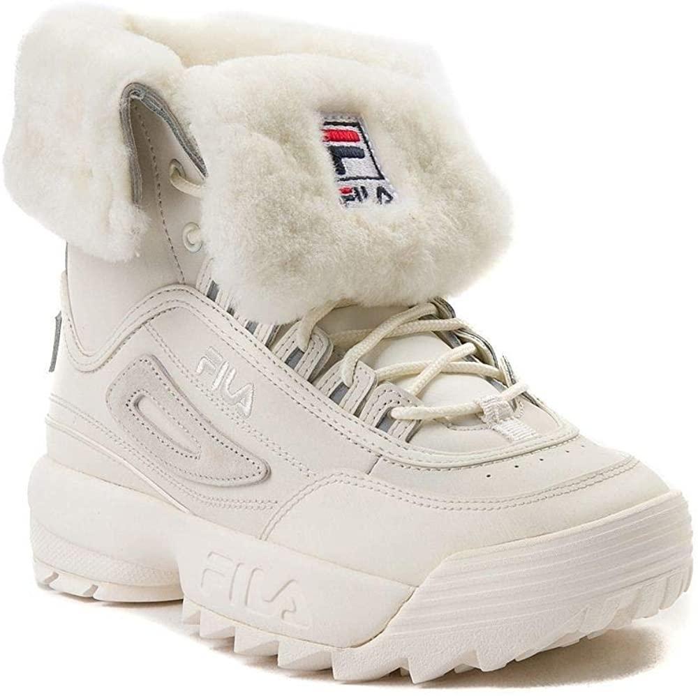 Кроссовки  Ботинки сникерсы  Фила  Fila Disruptor Shearling Boot  (Размер 26 см) Оригинал