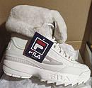 Кроссовки  Ботинки сникерсы  Фила  Fila Disruptor Shearling Boot  (Размер 26 см) Оригинал, фото 8
