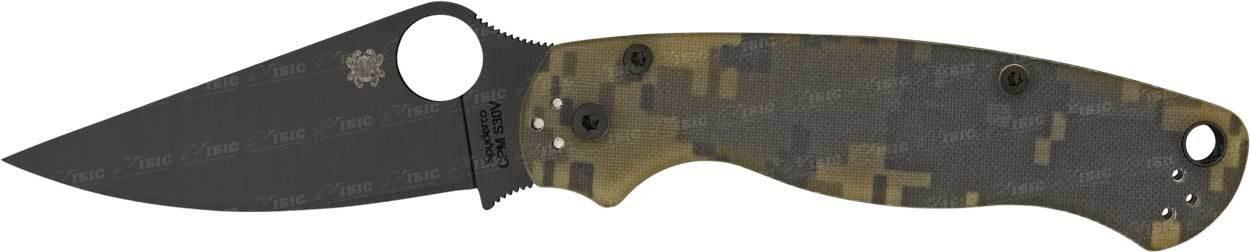 Нож Spyderco Para-Military2 Camo Black