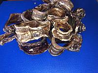 Трахея говяжья сушеная рубленая . Лакомства для собак 1 кг