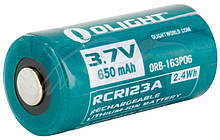 Акум. батарея Olight RCR 123 Li-Ion 650 mAh