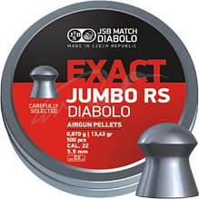 Пули для пневматики JSB Diablo Exact Jumbo RS 5,52 мм 0,870  гр (500 шт/уп)