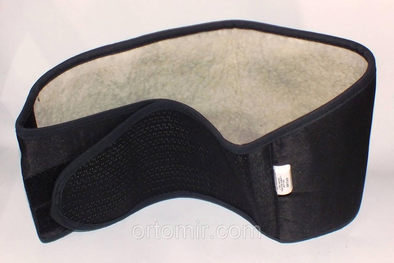 Пояс для спины согревающий на липучке