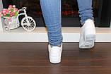 Кеды женские белые на шнуровке Т1007, фото 5