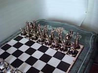 Шахматы художественное литье(бронза)