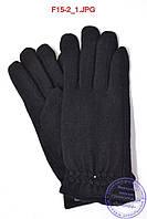 Женские кашемировые перчатки на плюше - F15-2, фото 1