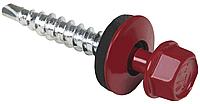 Кровельные саморезы для профнастила и металлочерепицы к металлу 4,8х19мм Wkret-Met WF цвет RAL 3005