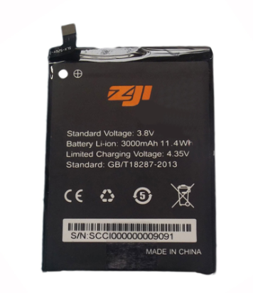 Аккумулятор (Батарея) для Homtom ZoJi Z7 (3000 mAh), фото 2