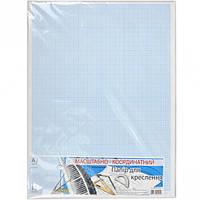 Бумага для черчения Графика масштабно-координатная А3 10 листов МК3110Е