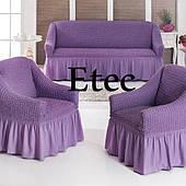 Чехлы на Диван и Два Кресла Etec