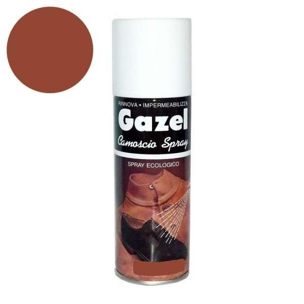 ✅ Светло-коричневая аэрозольная краска для замши и нубука Wilbra Gazel Camoscio, 200 мл