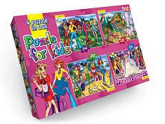 Пазлы 4 в 1 Danko toys