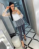 Блуза женская БЕЛ1057, фото 1
