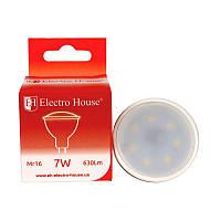 ElectroHouse LED лампа для точечных светильников MR16 7W 4100K 630Lm