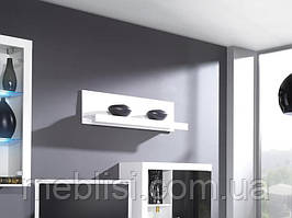 Полка SAMBA белый  (модульная мебель)(CAMA)