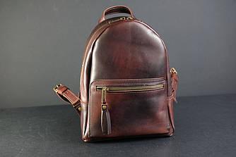 Рюкзак Лимбо, размер мини Итальянский краст цвет Вишня