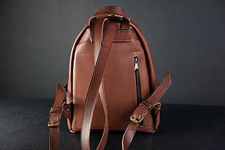 Женский кожаный рюкзак Лимбо, размер мини Итальянский краст цвет коричневый, фото 3
