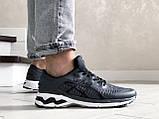 Мужские кроссовки Asics Gel-Kayano 25,сетка,темно серые, фото 2