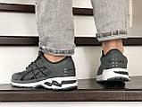 Мужские кроссовки Asics Gel-Kayano 25,сетка,темно серые, фото 5