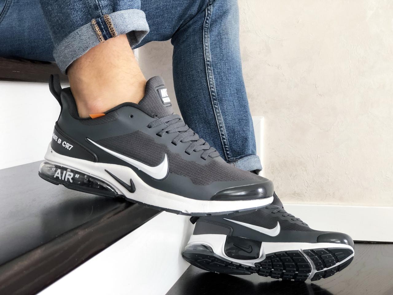 Мужские модные кроссовки Nike Air Presto CR7,серые