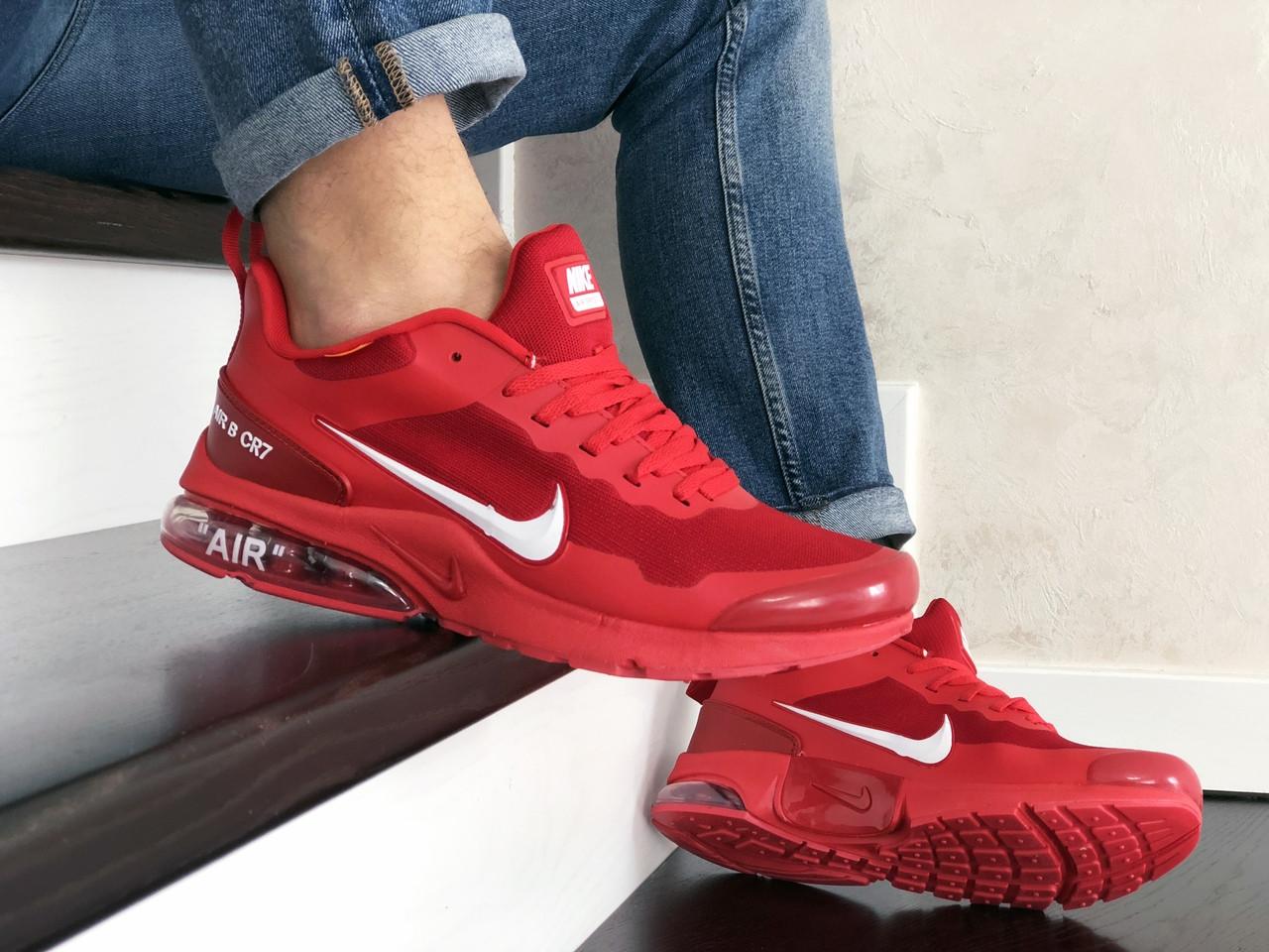 Мужские модные кроссовки Nike Air Presto CR7,красные