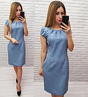Платье модель 716/1, ДЖИНС