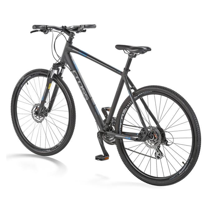 """Велосипед 28"""" CROSS Travel Off Road рама 19"""" 2017 черный"""