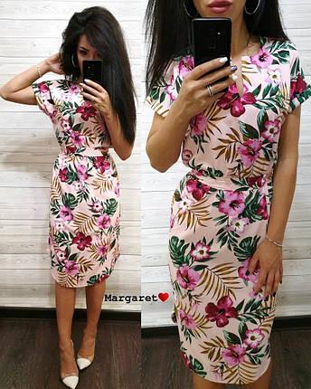 Платье летнее свободное средней длины 48-50, фото 2